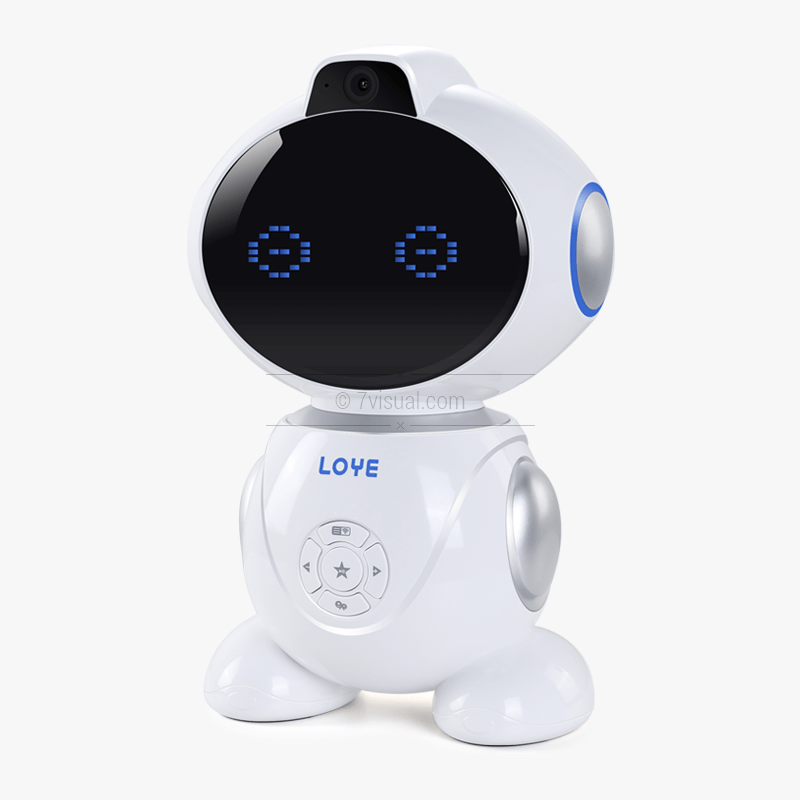 7visual.com 学习机器人拍摄精修-S0022